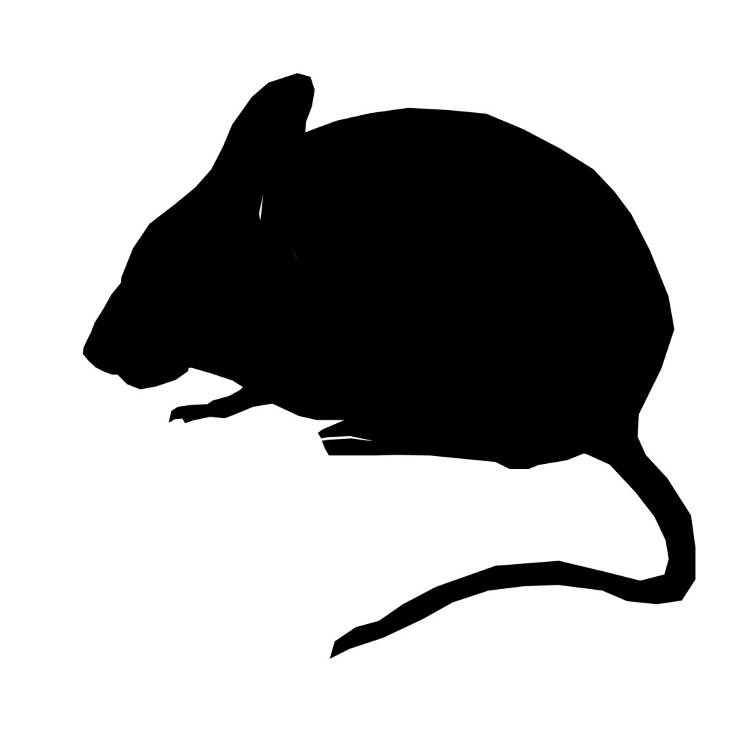 silhouette-mouse-sitting